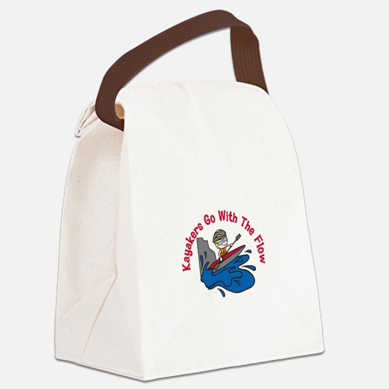 The Flow Canvas Lunch Bag