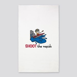 Shoot the Rapids 3'x5' Area Rug