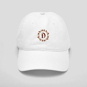 Letter D Monogram Cap