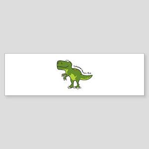 Tyrannesaurus Bumper Sticker