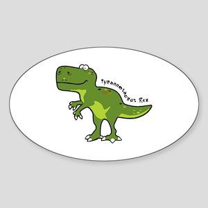 Tyrannesaurus Sticker