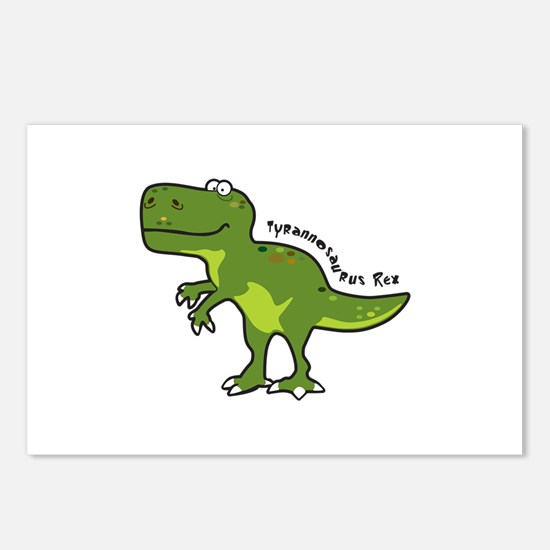 Tyrannesaurus Postcards (Package of 8)
