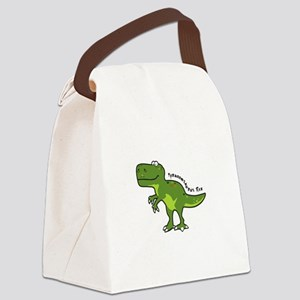 Tyrannesaurus Canvas Lunch Bag