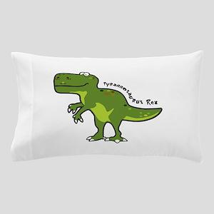 Tyrannesaurus Pillow Case