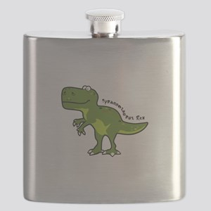 Tyrannesaurus Flask