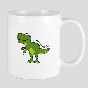 Tyrannesaurus Mugs