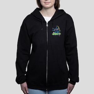 Hawkeye Design Women's Zip Hoodie