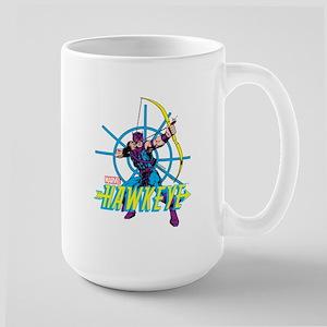 Hawkeye Design Large Mug