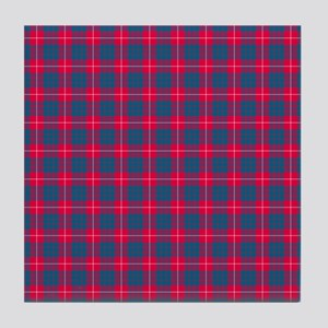 Tartan - Hamilton Tile Coaster