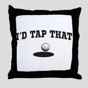 I'd tap that golf Throw Pillow