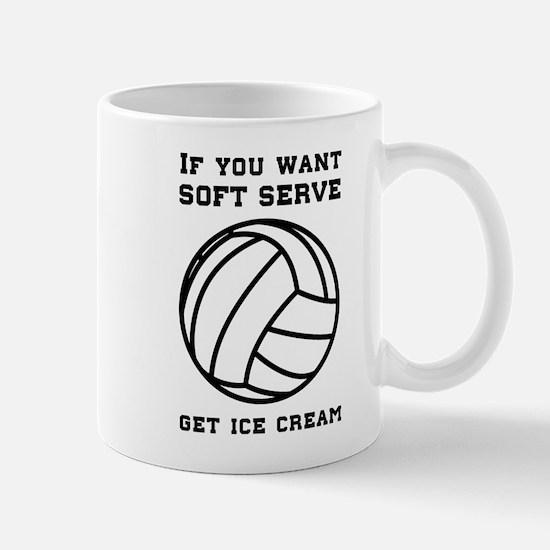 Soft serve get ice cream Mugs