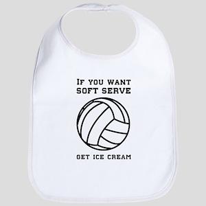 Soft serve get ice cream Bib