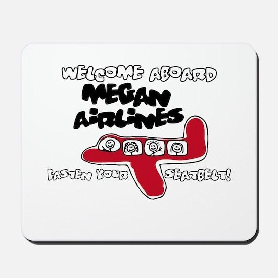 Megan Airlines Mousepad