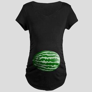 Watermelon Baby Maternity Dark T-Shirt