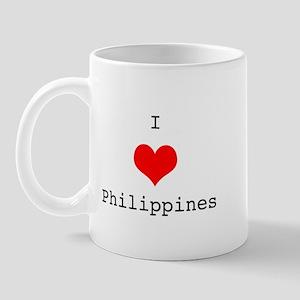 I Love Philippines Mug