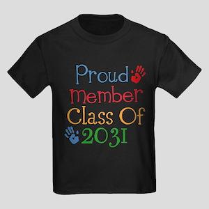 Class of 2031 Kids Dark T-Shirt