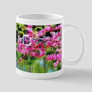 Oriental garden Mugs