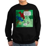 Cat and Angry Birds Sweatshirt (dark)