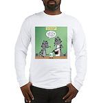 Raccoon Coffee Long Sleeve T-Shirt