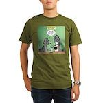 Raccoon Coffee Organic Men's T-Shirt (dark)