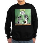 Raccoon Coffee Sweatshirt (dark)