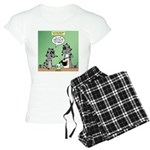 Raccoon Coffee Women's Light Pajamas