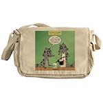 Raccoon Coffee Messenger Bag