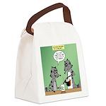Raccoon Coffee Canvas Lunch Bag