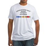 USS Wyman Fitted T-Shirt