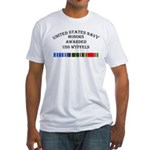USS Wyffels Fitted T-Shirt