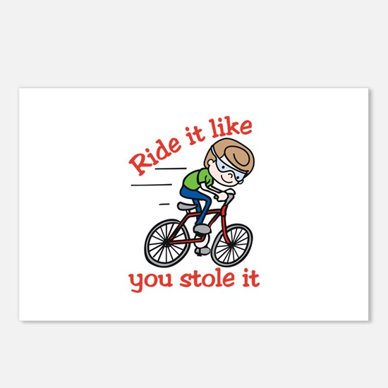 Ride It Postcards (Package of 8)