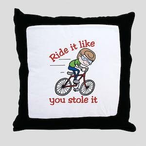 Ride It Throw Pillow