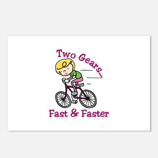 Bicycle Gears Postcards (Package of 8)