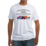 USS William Seiverling Fitted T-Shirt