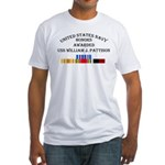 USS William J Pattison Fitted T-Shirt