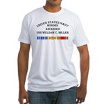 USS William Miller Fitted T-Shirt