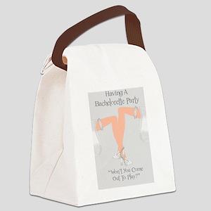 Invitations, Lesbian Bachelorette Canvas Lunch Bag