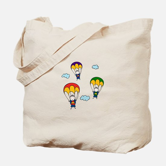 Parachute Kids Tote Bag