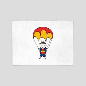 Parachute Boy 5'x7'Area Rug