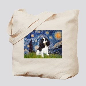 Starry Night Tri Cavalier Tote Bag