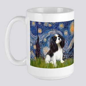 Starry Night Tri Cavalier Large Mug