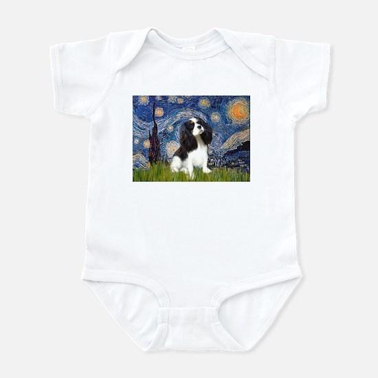 Starry Night Tri Cavalier Infant Bodysuit