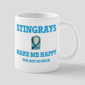 Stingrays Make Me Happy Mugs