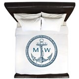 Nautical monogram King