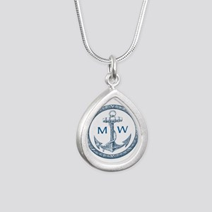 Anchor, Nautical Monogram Necklaces