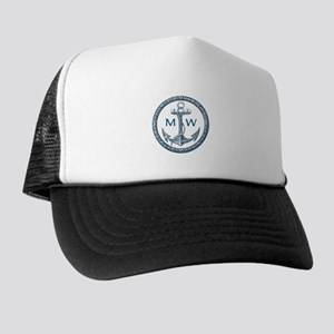 16ea31dc257af Nautical Trucker Hats - CafePress