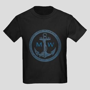 Anchor, Nautical Monogram T-Shirt