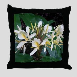 Hawaiian Ginger Throw Pillow