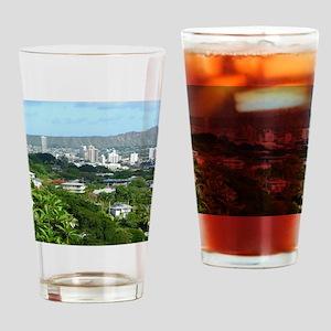 Honolulu, Hawaii Drinking Glass