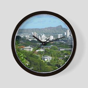 Honolulu, Hawaii Wall Clock